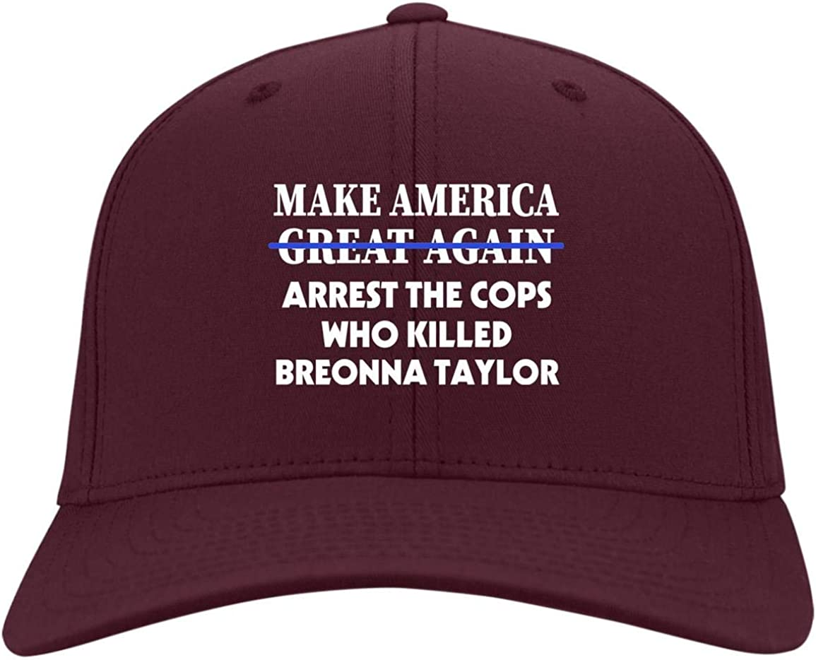 BLM Make America Arrest The Cops Cap 40%OFFの激安セール for オーバーのアイテム取扱☆ Justice Breonna - Twill