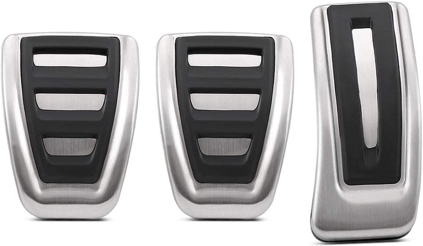 para Audi A4 S4 A5 A6 S6 Q3 Q5 Q7 Q8 S5 A7 S7 A8 S8 NIUASH Pedal de Acelerador de Acero Inoxidable para Coche en MT para Macan