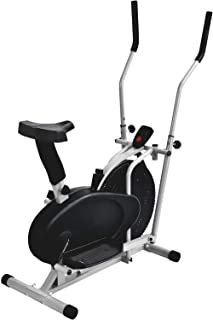 Murtisol Indoor Cycling Bike Spin Bike Exercise Bike w/LCD Monitor,Adjustable Seat & Handlebar,Rolling Wheels,Water Bottle Holder for Home,Gym