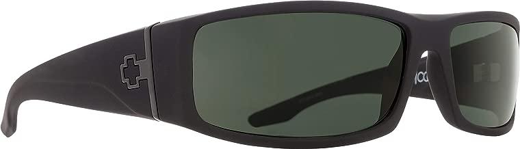 Spy Optic Cooper 670195973864 Polarized Rectangular Sunglasses, Soft Matte Black