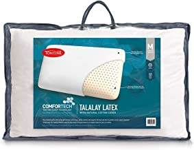 Tontine T2867 Comfortech Talalay Latex Pillow,Medium