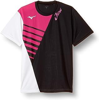 [ミズノ] テニスウェア JAPAN Tシャツ 半袖 62JA0X85