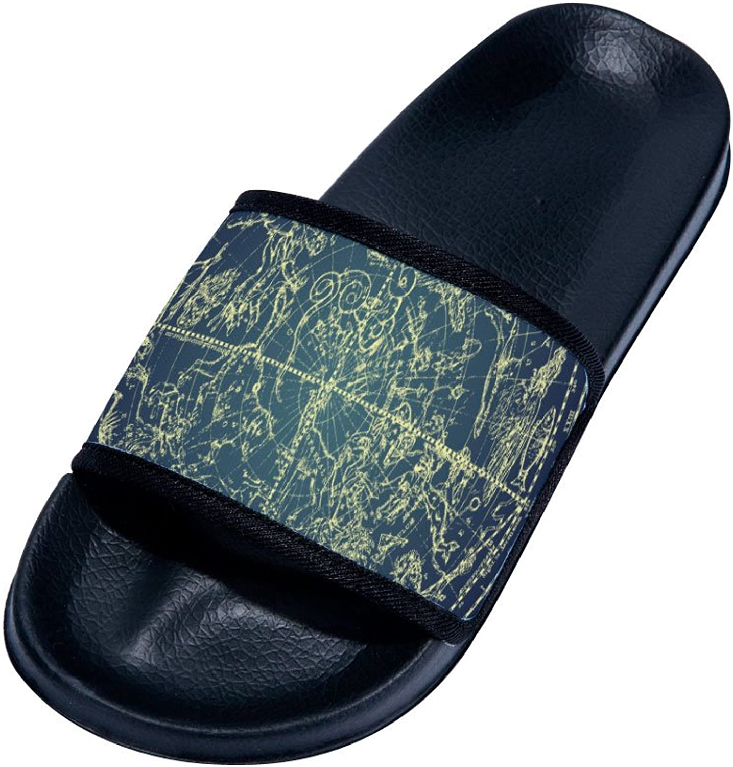 Buteri The Earth Map Summer Breathable Quick-Drying Non-Slip Slippers