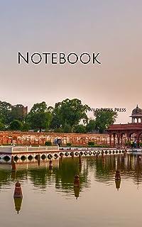 Notebook: Lahore Shalimaar Garden Mughal Architecture
