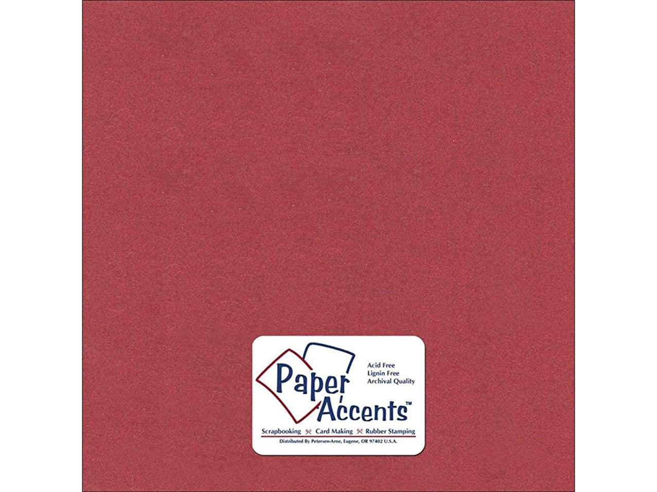 Accent Design Paper Accents Pearlized12x12Marsala Pearlized Marsala