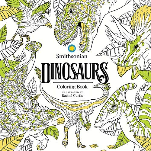 Dinosaurs A Smithsonian Coloring Book product image