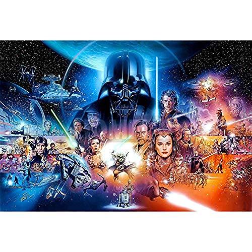 FPRW Puzzle per Adulti 1000 Pezzi, Puzzle Classico di Star Wars, Gioco di Puzzle Giocattoli educativi educativi per Bambini Regalo Interessante