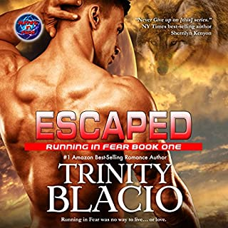 Escaped audiobook cover art