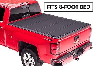 BAKFlip MX4 Hard Folding Truck Bed Tonneau Cover | 448122 | fits 2014-19 GM Silverado, Sierra 8' bed