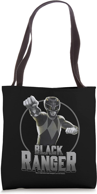 Power Rangers Black Ranger Power Pose Tote Bag
