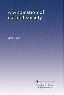 A vindication of natural society