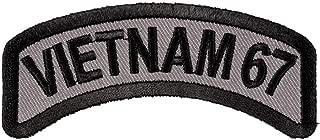 Vietnam 67 Rocker Patch, Vietnam Veteran Patches