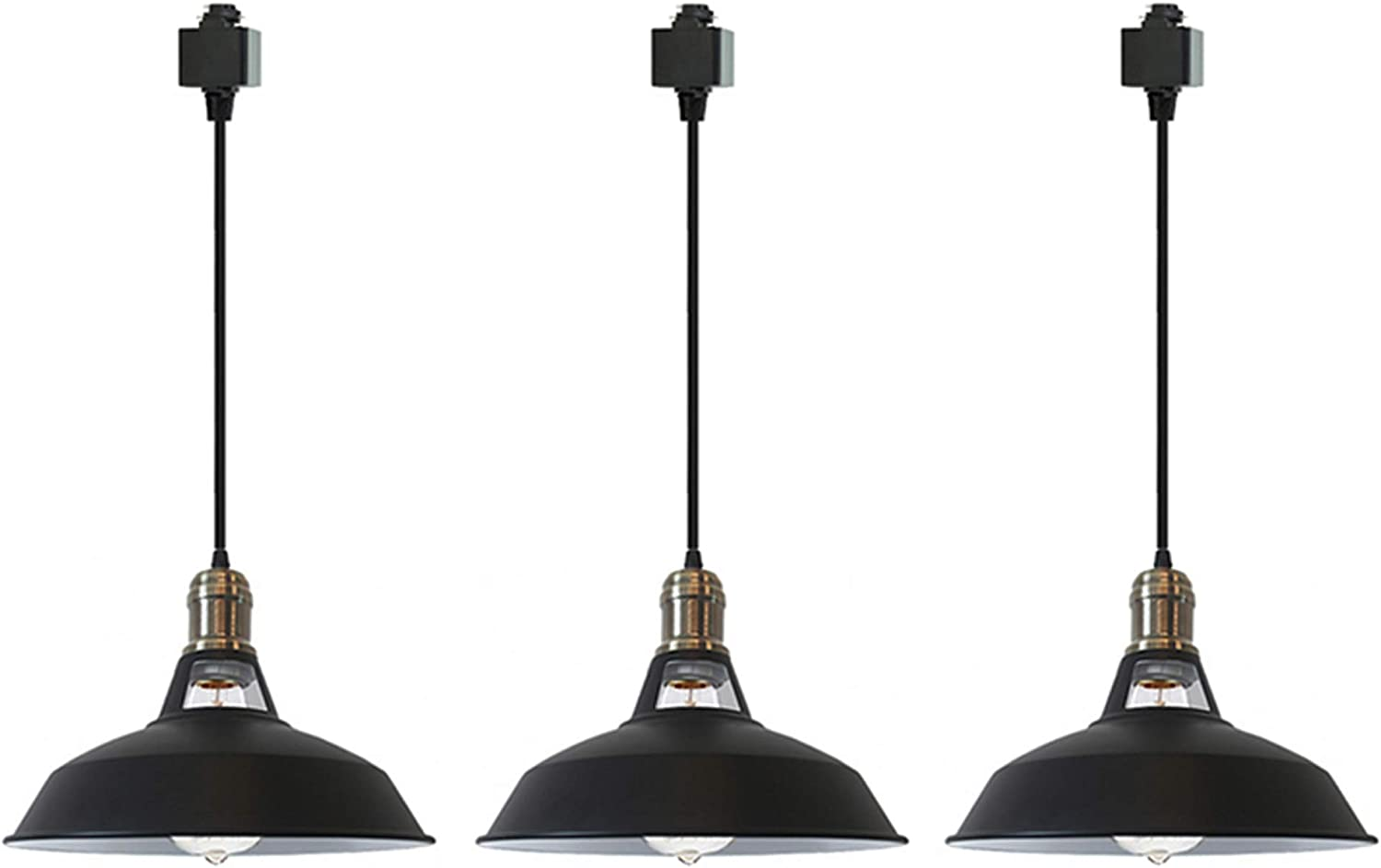 SKIVTGLAMP Low price Iron NEW before selling ☆ H-Type Track Pendant Cord Lighting 11.8in Custom