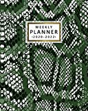 2020-2022 Weekly Planner: Snake Skin Three Year Daily Planner & Schedule Agenda with Weekly Spread Views - 3 Year Organizer with Notes, Vision Boards, Inspirational Quotes & More - Exotic Pattern