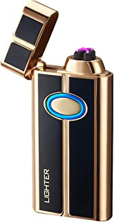 Pard Newest Cigar Lighter, 2019 Windproof Arc Lighter, Flameless Cigarette Lighter