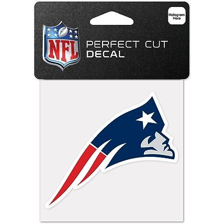 Wincraft Nfl New England Patriots 63055011 Perfekten Schnitt Farbe Aufkleber 10 2 X 10 2 Cm Schwarz Sport Freizeit