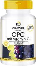 OPC con Vitamina C – 60mg de OPC de 200mg de extracto de piel de uva – Vegano – 100 cápsulas