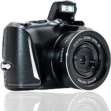 Digital Camera Full HD 2.7K/20FPS Vlogging Camera 48.0 Megapixels Full HD Camera with 4x Digital Zoom and 3.0 Inch Screen ...