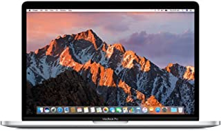 Apple MacBook Pro MNQG2LL/A 13-inch Laptop with Touch Bar, 2.9GHz dual-core Intel Core i5, 512GB, Retina Display, Silver (Discontinued by Manufacturer) (Renewed)
