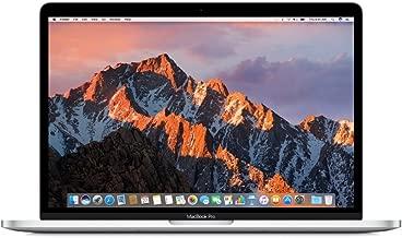 Apple MPDL2LL/A 13in MacBook Pro, Retina, Touch Bar, 3.3GHz Intel i7 Dual Core, 16GB RAM, 512GB PCIe SSD, Intel Iris 550, Silver (Renewed)