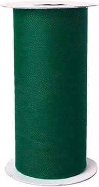 Falk Fabrics Apparel Grade Tulle Spool Emerald, Creek