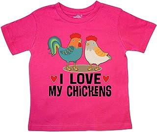 Chicken Farmer I Love My Chickens Toddler T-Shirt