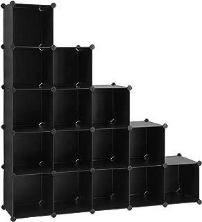 SONGMICS Unidad de Almacenamiento de 16 Cubos