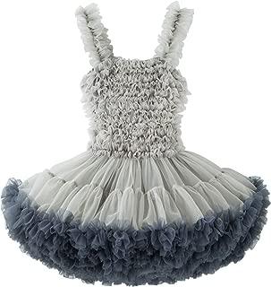TUTUKIDS Baby Girls Tutu Dress Ruffle Tulle Pettidress Birthday Party Wedding Ocassion Dress