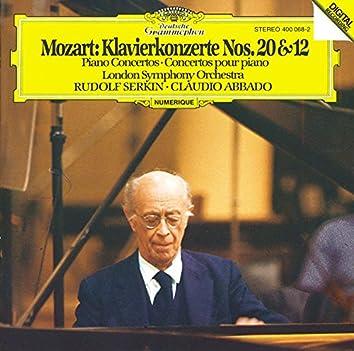 Mozart: Piano Concertos Nos.12 & 20