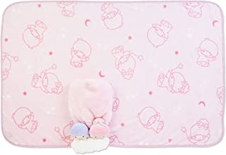 Little Twin Star Kiki & Lala Sanrio Plush Toy Cape Blanket Japan Limited Edition for Kids