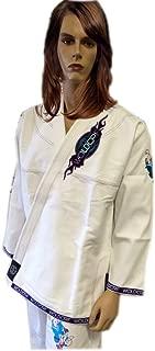 Woldorf USA BJJ Jiu Jitsu Kimono Pearl Weave Gi for Women White