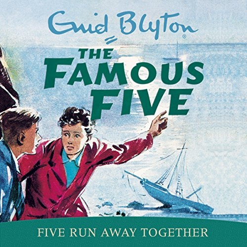 Five Run Away Together audiobook cover art