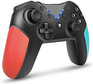 BuFan Mandos para Switch, Bluetooth Switch Pro Controller Switch Wireless Remote Gamepad Joystick para Nintendo Switch Con...