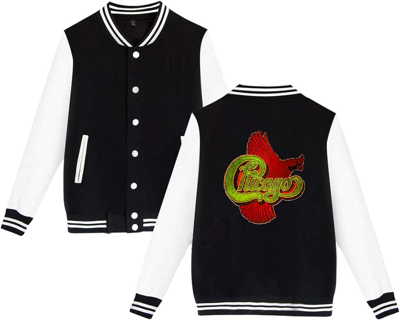 Max 55% OFF PELETNNTO supreme Chicago Band Baseball Uniform Jacket Coat Sport Black