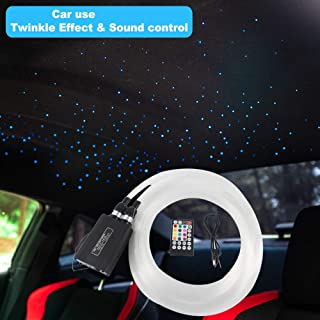 fiber optic star ceiling car