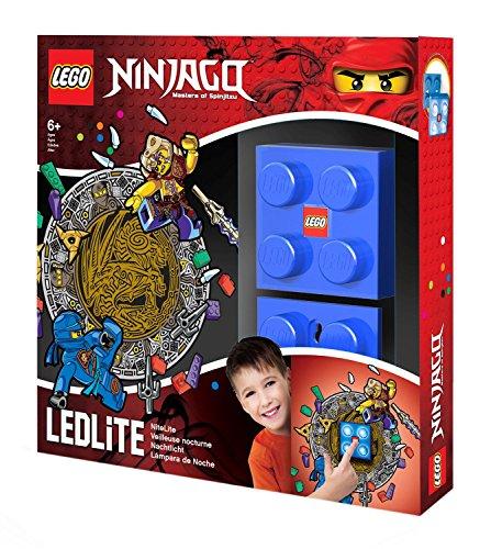 LEGO Ninjago Wandlicht - Jay, circa 8 x 8 cm IQ40297