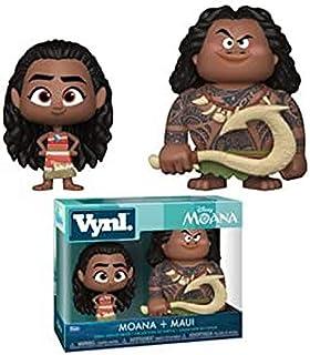 Funko pop Vynl Moana - Maui And Moana 2Pack Collectible Figure, Multicolor