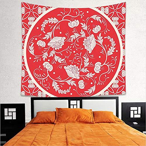 JNKKLM handdoeken Home Tapestry Decoratieve Tapestry Lotus Beach Handdoek Mode Strand Sjaal Canvas Tafelkleed Feestelijke Sfeer Decoratie