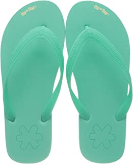 : Turquoise Tongs mode Sandales et nu pieds
