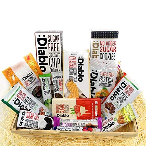 Diablo Diabetic 0 Sugar Hamper Box Sweets Gummy Cookies...