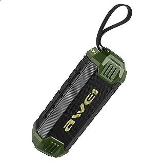 Awei Y280 Portable Waterproof Bluetooth Wireless Speaker - Green