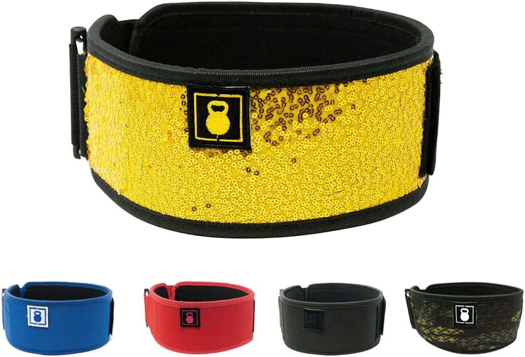 High material 2POOD Straight Weightlifting Belt The Weightbelt Official of U Atlanta Mall