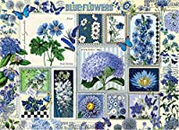 Blue Flower 1000 Pieces