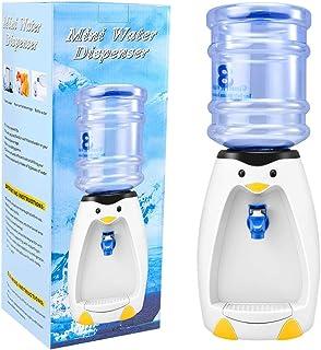 LQKYWNA 2.5L Mini Distributeur d'eau Mignon de Pingouin avec Seau d'eau Boire 8 Verres d'eau pour Cadeau Dortoir étudiant ...