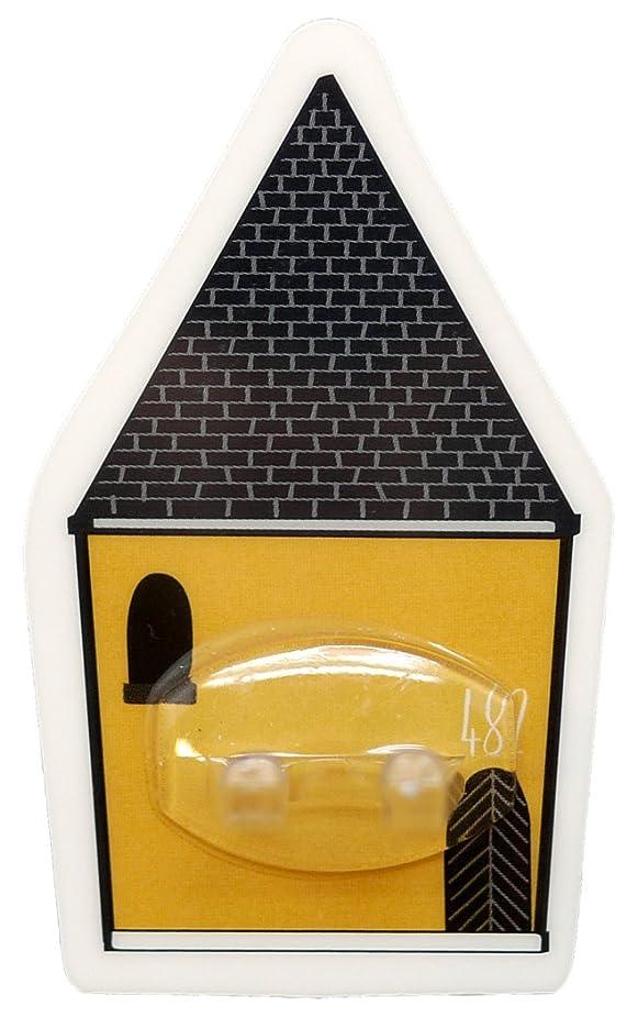 電報作る猫背PALAS & DECORE LUONNOS Nordis(ノルディス) マジックシートフック ハブラシホルダー ハウスイエロー NRD-10 C