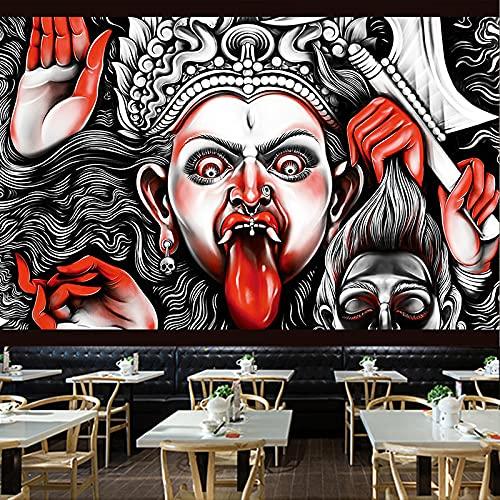YDyun Tapestry,Colgar en la Pared, Tienda de Tatuajes Mural Patrón Pared Paño Fondo Paño Pared