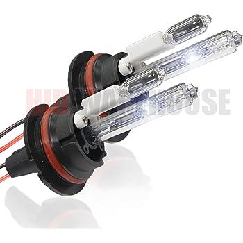 HID-Warehouse HID Xenon Replacement Bulbs - 9007 8000K - Medium Blue (1 Pair)