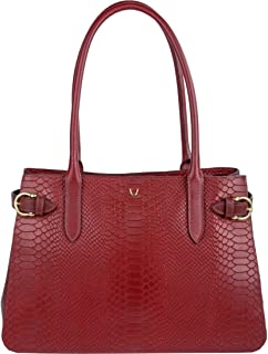 Hidesign Women's Shoulder Bag(SNAKE MEL RAN MARSALA) (N 1)