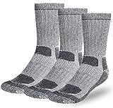 Premium Merino Wool Hiking Socks Outdoor Trail...