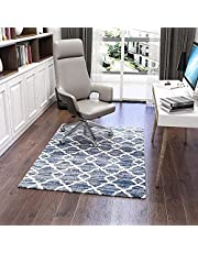 Luxury Chair Mat for Carpeted Floor, Desk Chair Mat hardwood floors, 136 X 100 cm, Multi-Purpose Chair Mat Protector Carpet for Home and Office, protects hard floors, anti-skidding,home office